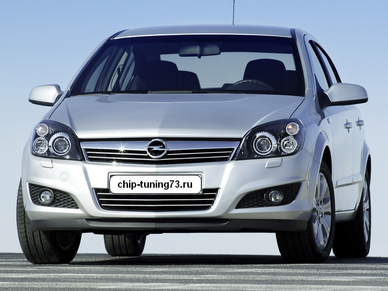 Chip-tuning Opel Astra H