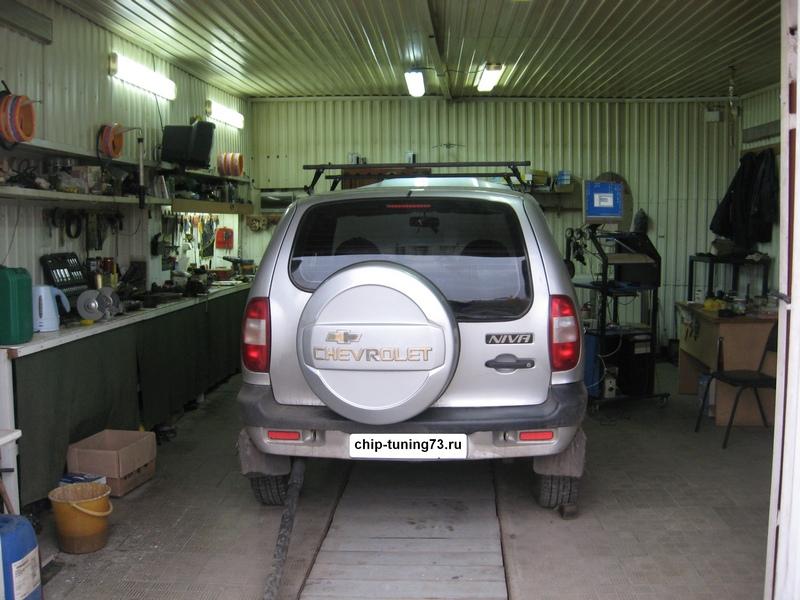 Чип-тюнинг Chevrolet Niva