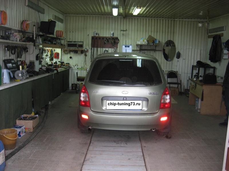 Чип-тюнинг Lada Kalina 2011г. с ЭБУ Bosch ME1797 E-Gas
