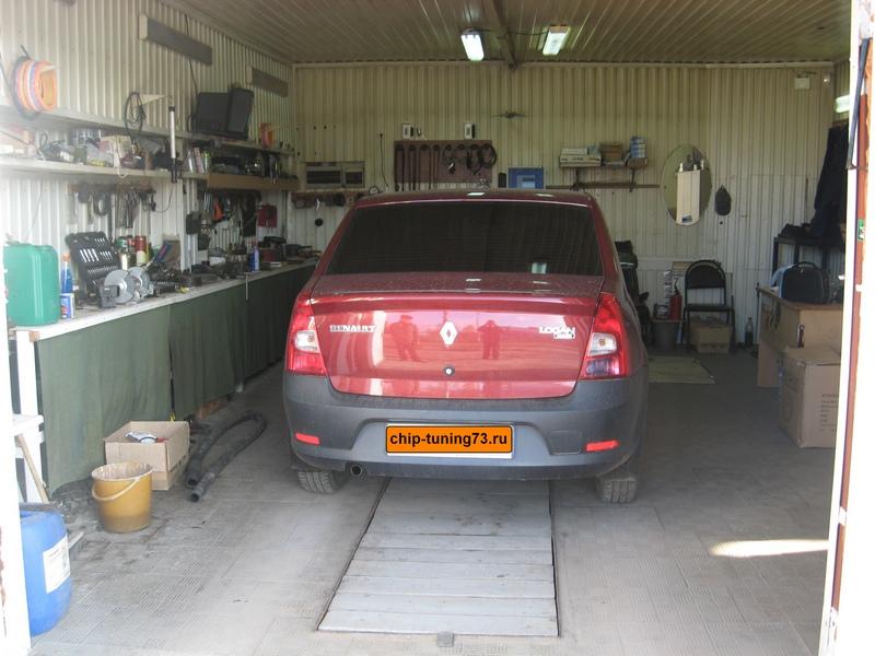 Чип-тюнинг Renault Logan