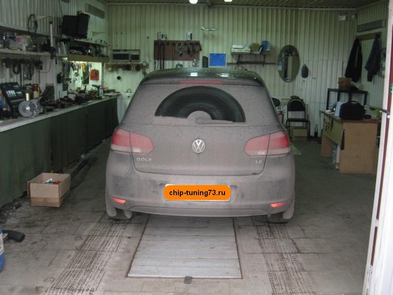 Чип-тюнинг Volkswagen Golf
