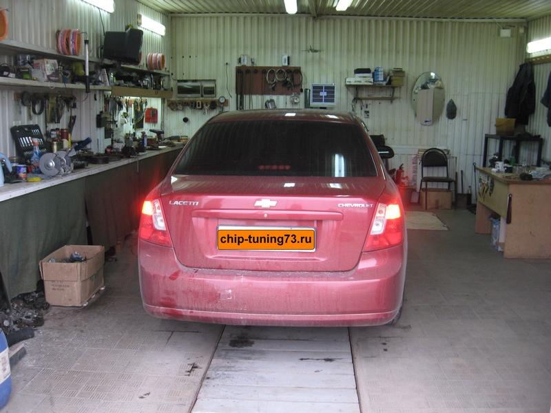 Чип-тюнинг Chevrolet Lacetti 2009