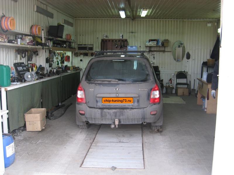 Чип-тюнинг Lada Kalina E-Gas Euro4