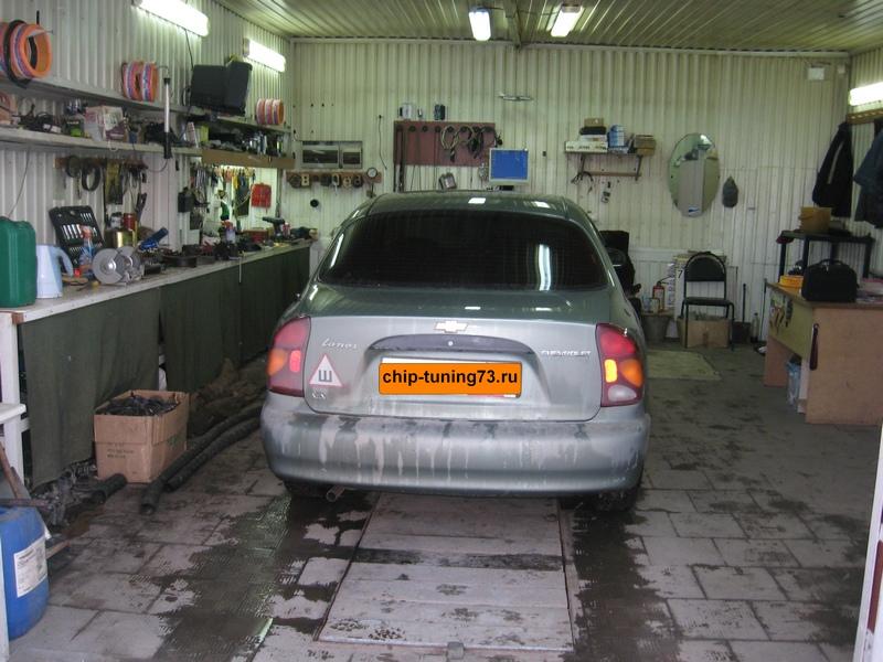Чип-тюнинг Chevrolet Lanos 2005