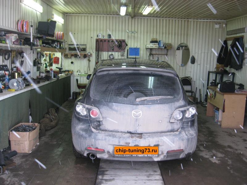 Чип-тюнинг Mazda 3 2005