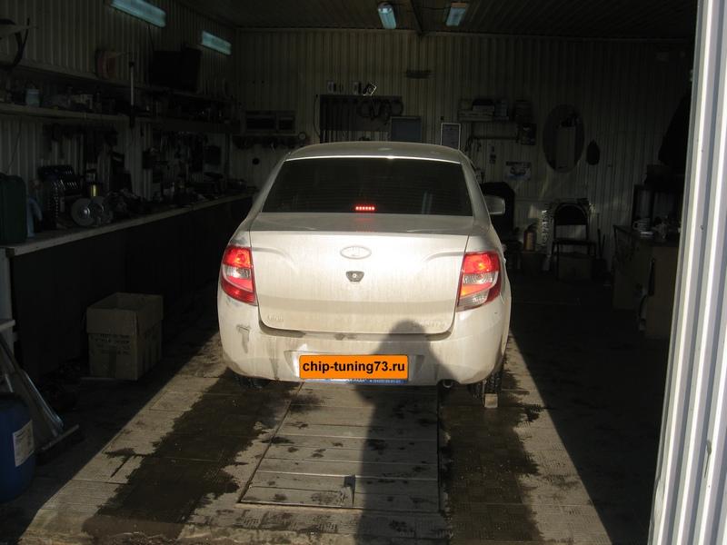 Чип-тюнинг Lada Granta 2012