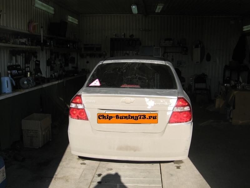Чип-тюнинг Chevrolet Aveo 2008