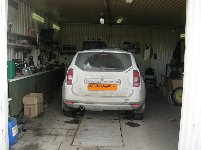 Чип-тюнинг Renault Duster 2013