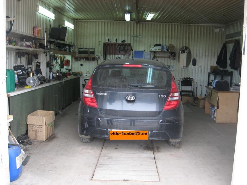 Чип-тюнинг Hyundai i30 2011