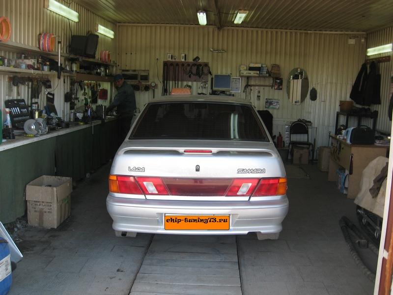 Чип-тюнинг VAZ 2115 2012 E-Gas