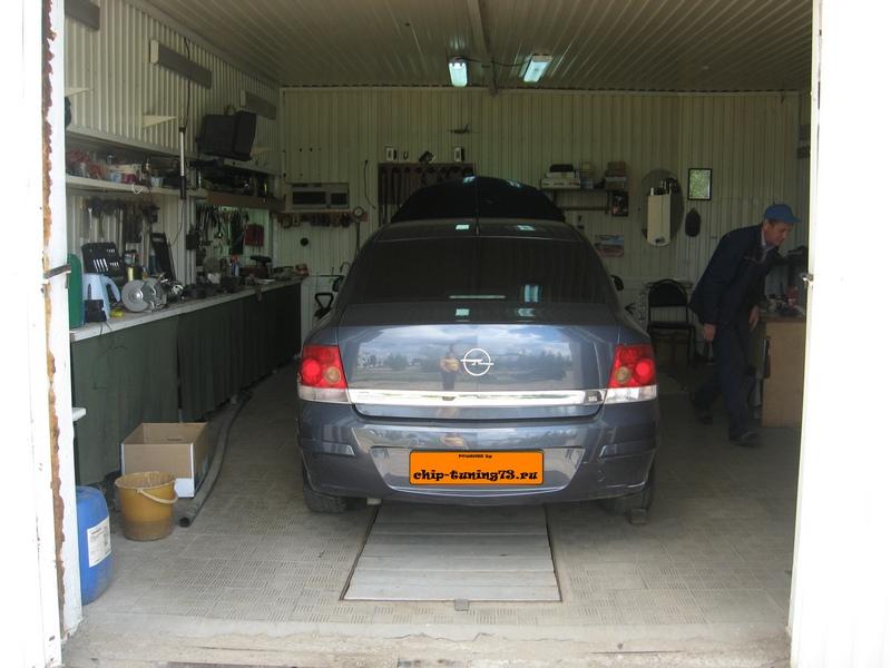 Чип-тюнинг OPEL Astra H 2008