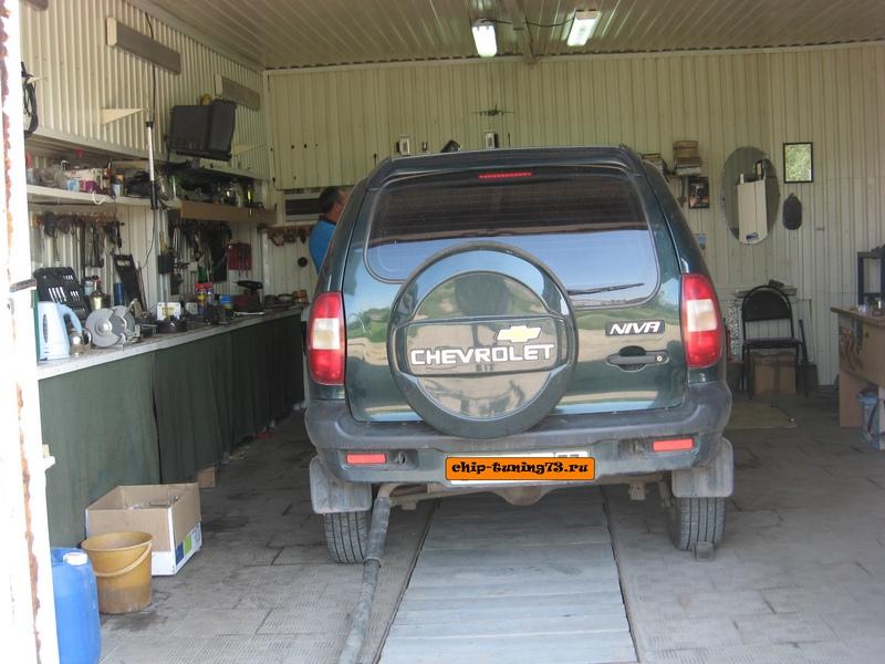 Чип-тюнинг Chevrolet Niva 2007