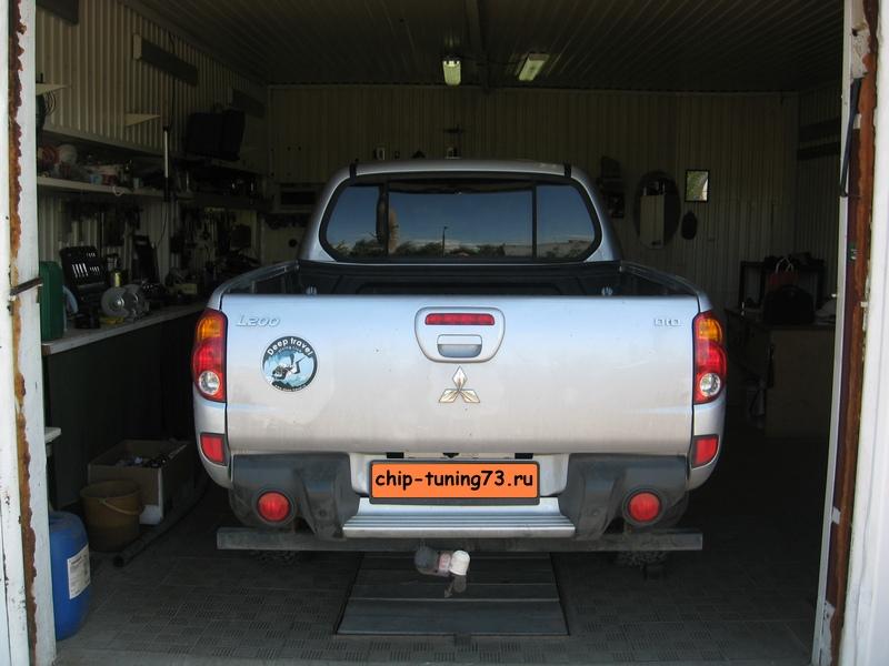 Чип-тюнинг MITSUBISHI L200 diesel