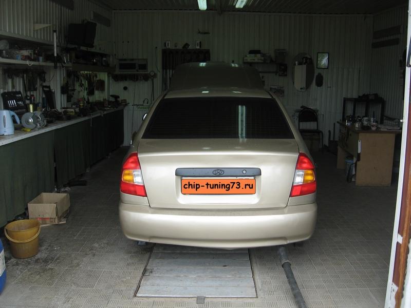 Чип-тюнинг HYUNDAI Accent 2006