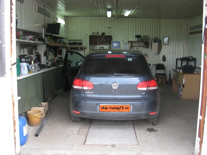 Чип-тюнинг Volkswagen Golf 6 2012
