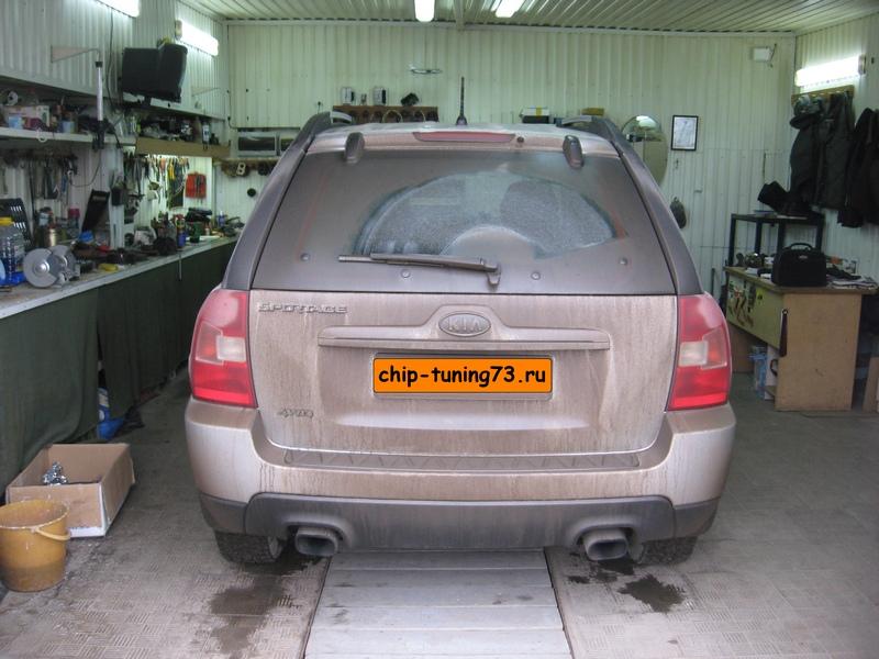 Чип-тюнинг KIA Sportage II 2009 Diesel