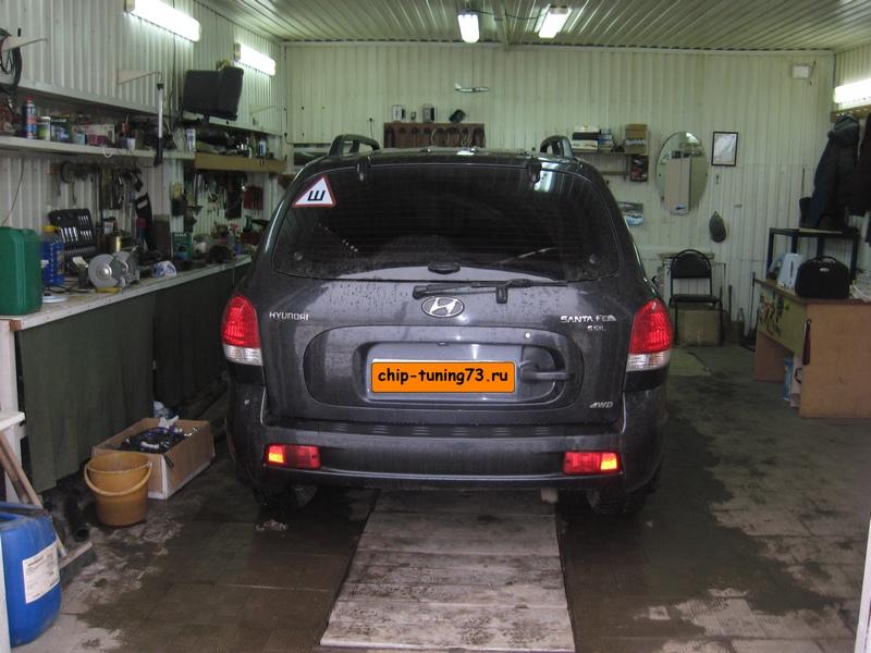 Чип-тюнинг HYUNDAI Santa Fe 2008 diesel