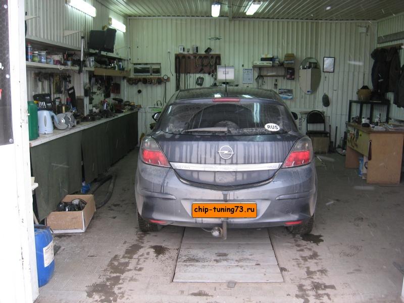 Чип-тюнинг OPEL Astra H 2007