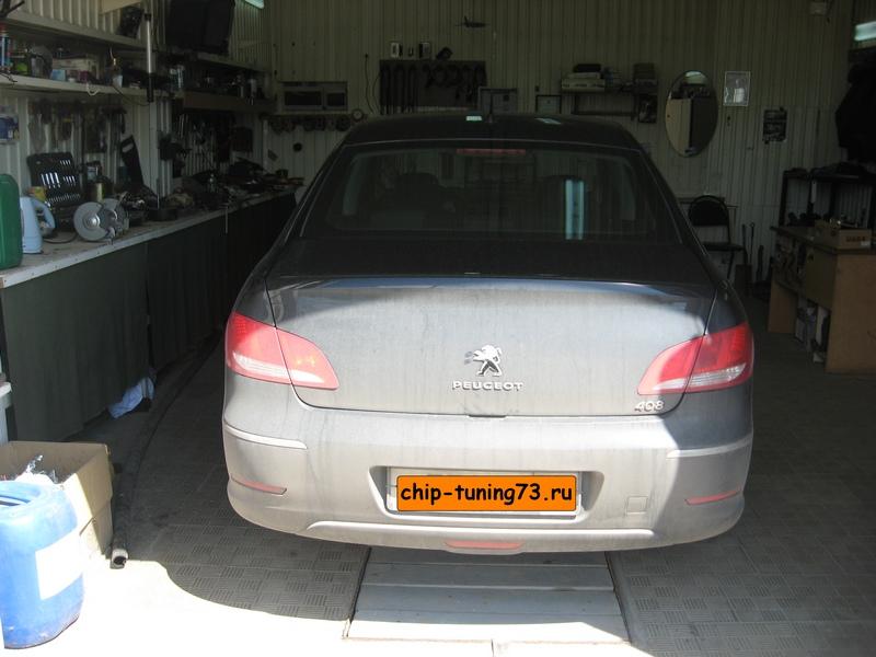 Чип-тюнинг PEUGEOT 408 2012 diesel