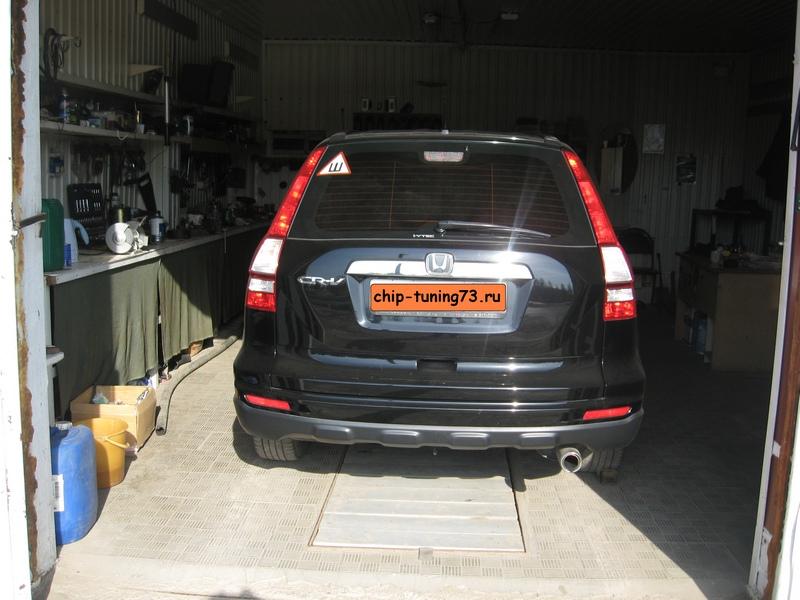 Чип-тюнинг HONDA CR-V 2010