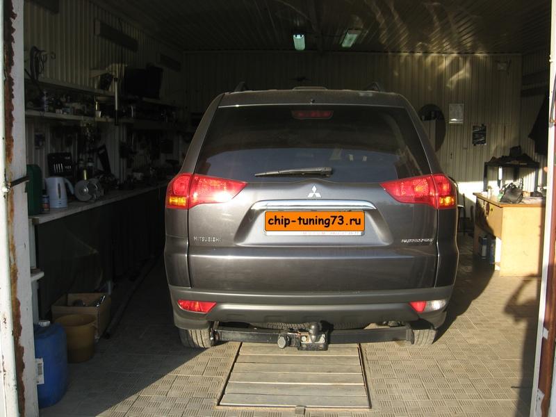 Чип-тюнинг MITSUBISHI Pajero 2013 diesel