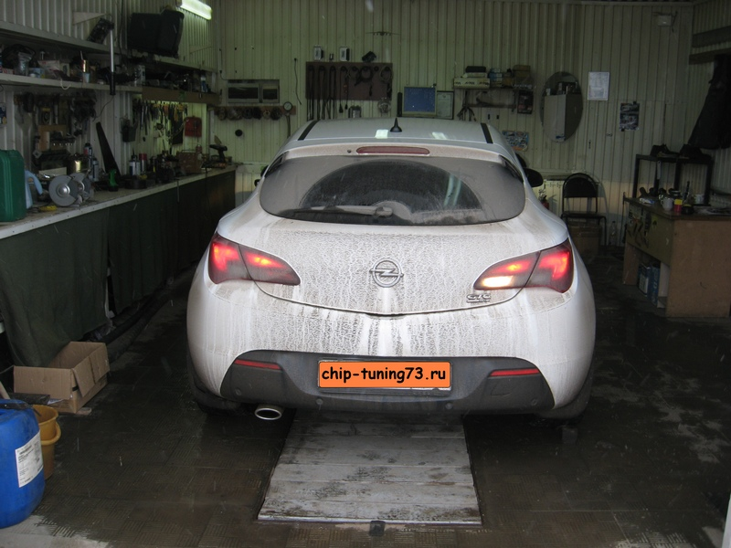 Чип-тюнинг OPEL Astra J turbo 2012