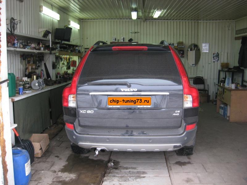 Чип-тюнинг VOLVO XC90 2007 diesel