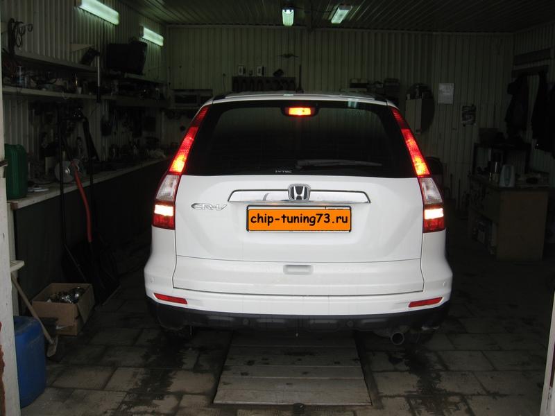 Чип-тюнинг HONDA CR-V 2012