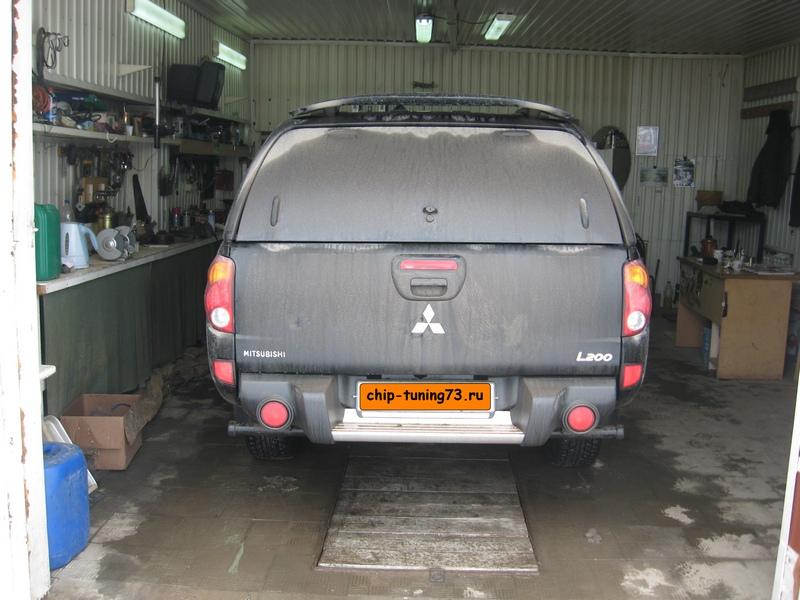 Чип-тюнинг L200 2013 diesel