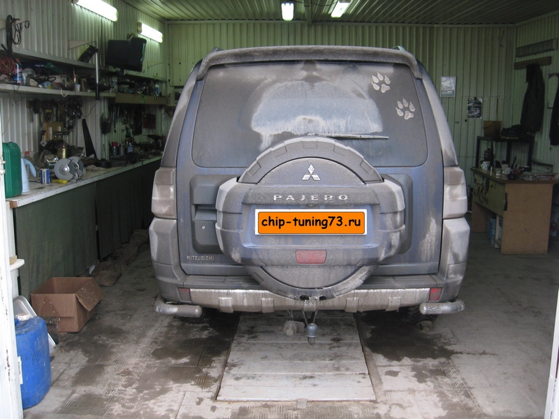 Чип-тюнинг MITSUBISHI Pajero IV 2008 diesel