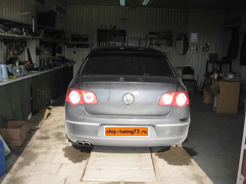 Чип-тюнинг VOLKSWAGEN Passat 2008 turbo
