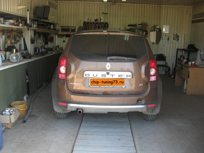 Чип-тюнинг RENAULT Duster 2014 diesel
