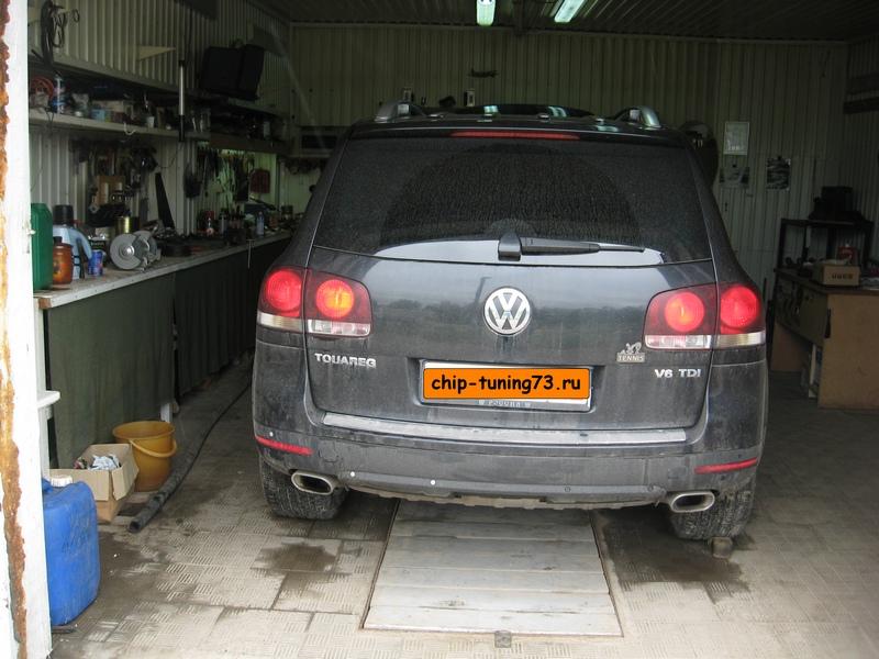 Чип-тюнинг VOLKSWAGEN Touareg 2009 diesel