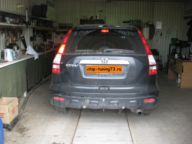 Чип-тюнинг HONDA CR-V 2008