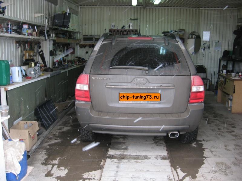 Чип-тюнинг KIA Sportage 2007