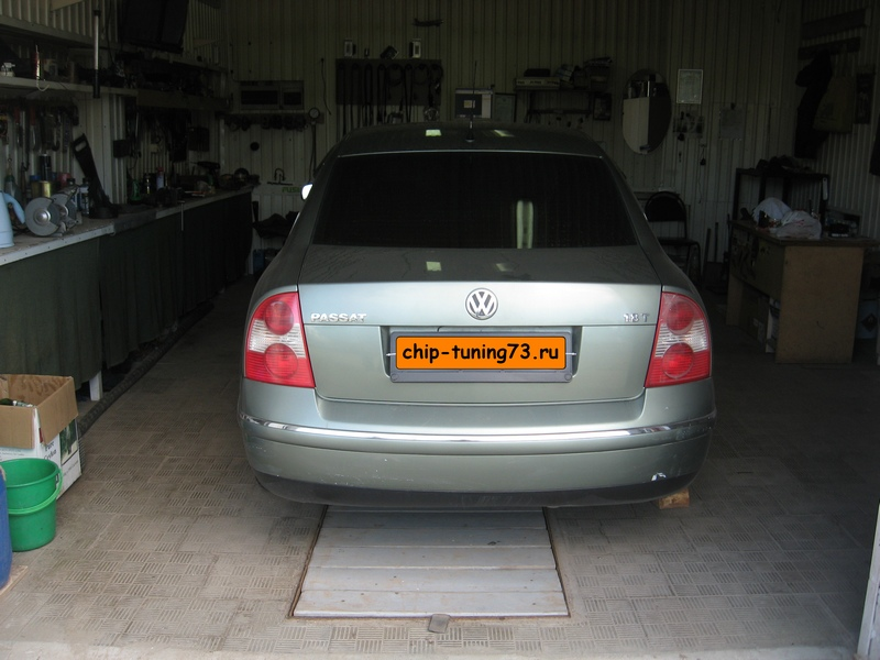 Чип-тюнинг VOLKSWAGEN Passat 2003 turbo