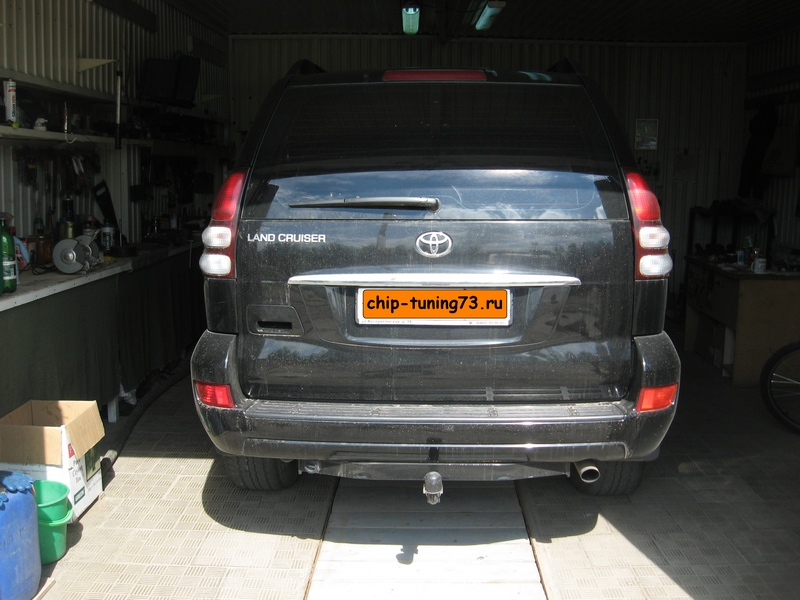 Чип-тюнинг TOYOTA Land Cruiser Prado 2007