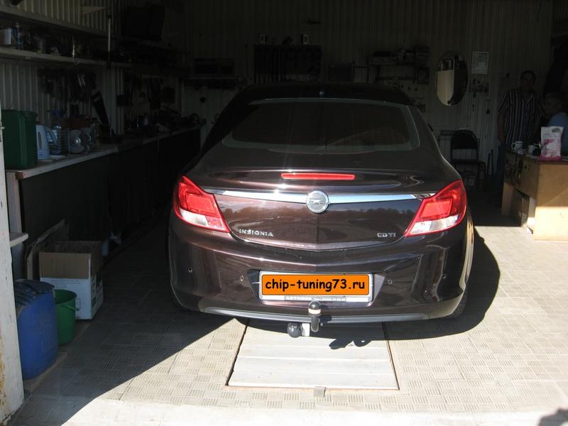 Чип-тюнинг OPEL Insignia 2011 diesel