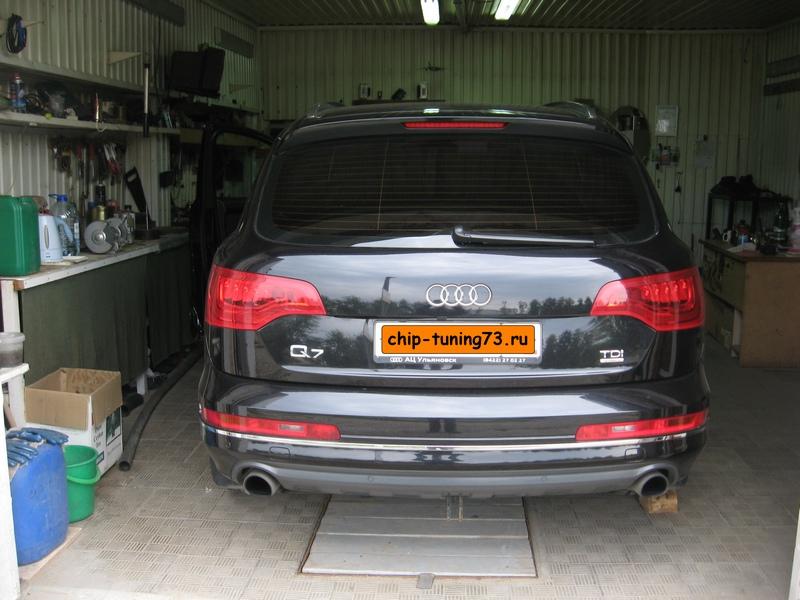 Чип-тюнинг AUDI Q7 2013 diesel