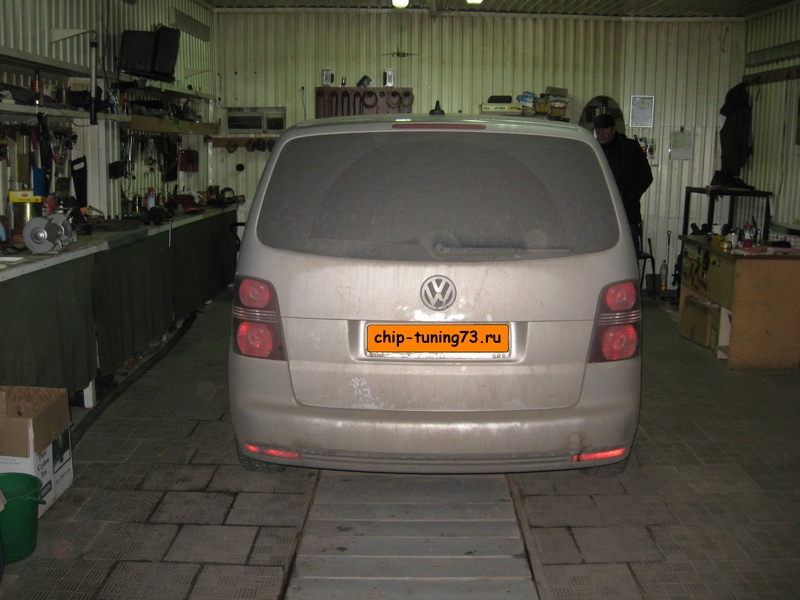 Чип-тюнинг VOLKSWAGEN Touran 2008 diesel