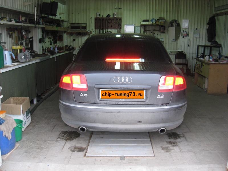 Чип-тюнинг AUDI A8 2003