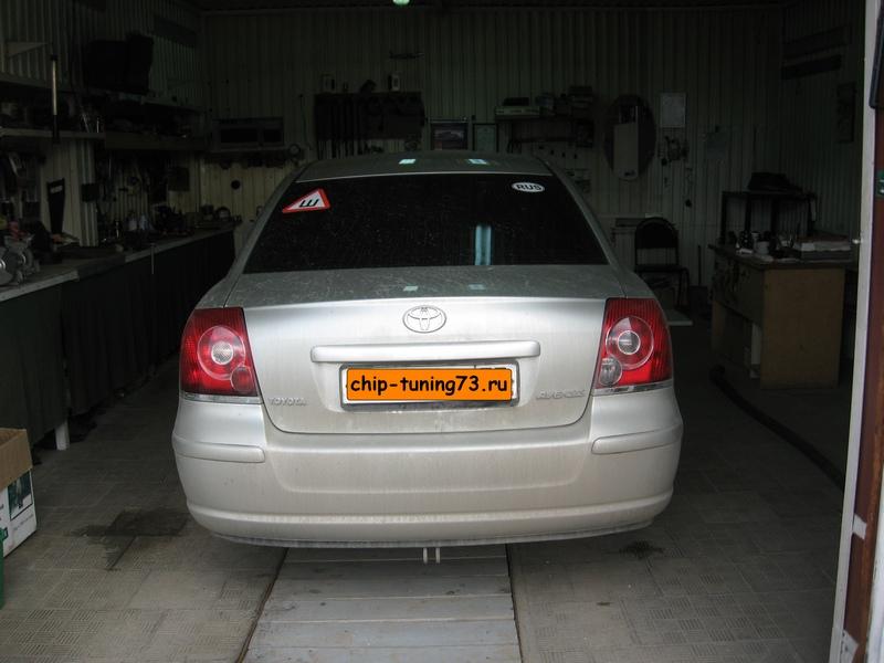 Чип-тюнинг TOYOTA Avensis 2008