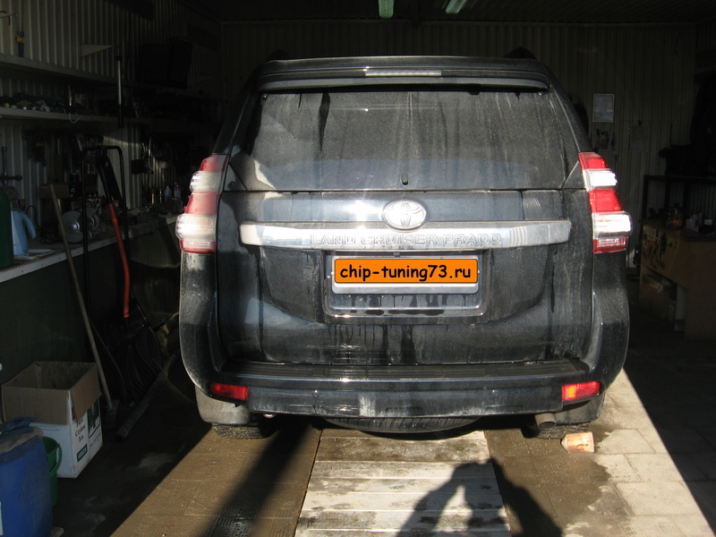 Чип-тюнинг TOYOTA LC Prado 2016 diesel