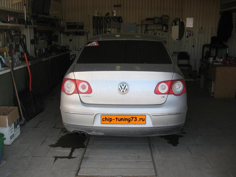 Чип-тюнинг VOLKSWAGEN Passat 2010 turbo