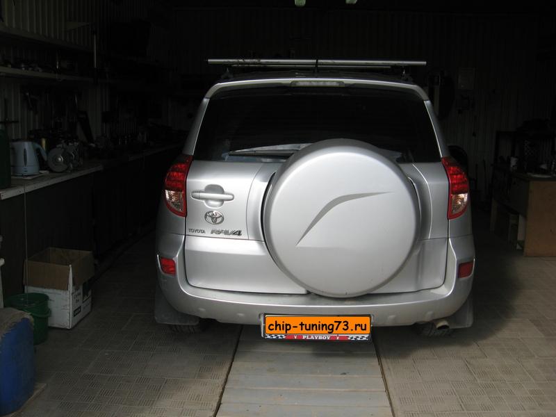 Чип-тюнинг TOYOTA RAV4 2006