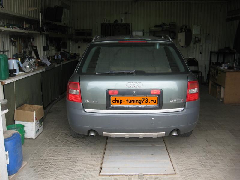 Чип-тюнинг AUDI Allroad 2003 diesel