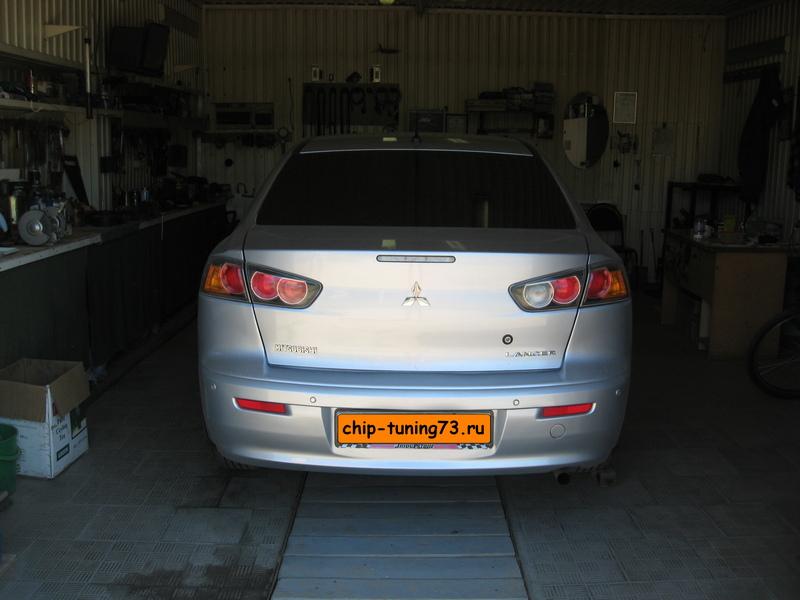 Чип-тюнинг MITSUBISHI Lancer X 2011