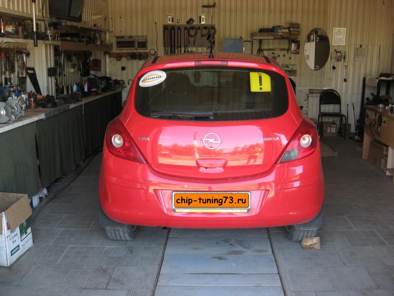 Чип-тюнинг OPEL Corsa D 2008