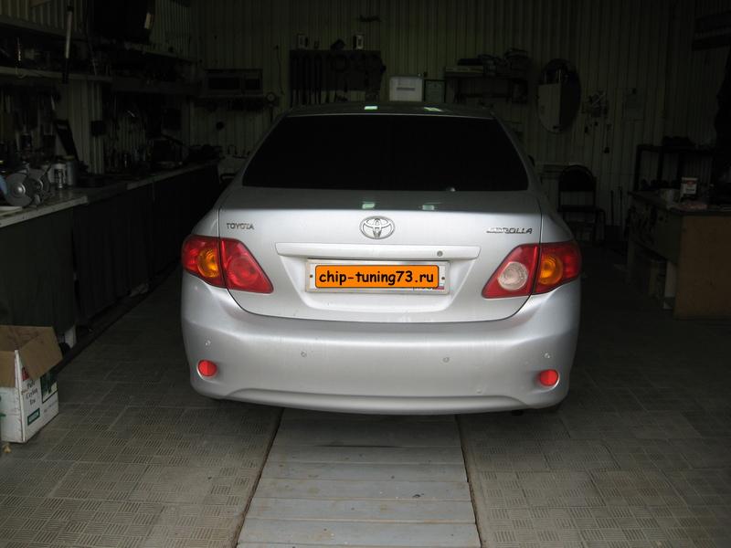 Чип-тюнинг TOYOTA Corolla 2009