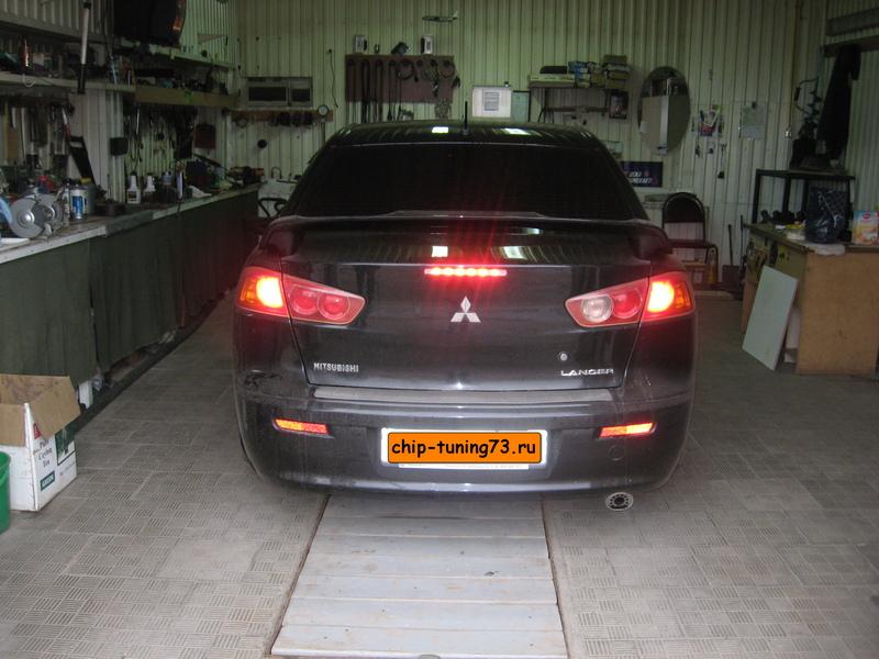 Чип-тюнинг MITSUBISHI Lancer X 2008